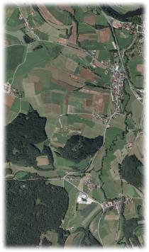 Dorfgeschichte Luftbild Bild1